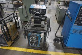 Miller XMT 300 cc/cv Welder w/ Wire Feeder