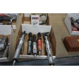 (5) Pneumatic Ratchet Wrenches
