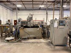 C4P High Velocity 4-Axis CNC Water Jet Machining Center, Fagor Control