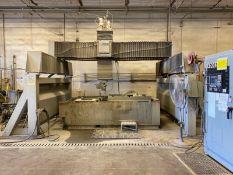 Progressive 5-Axis Bridge Type CNC Water Jet Machining Center, 2016 Fagor Control