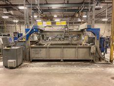 PAR Systems Vector 4 Post Gantry 4-Axis CNC Waterjet, 2018 Fagor CNC Control