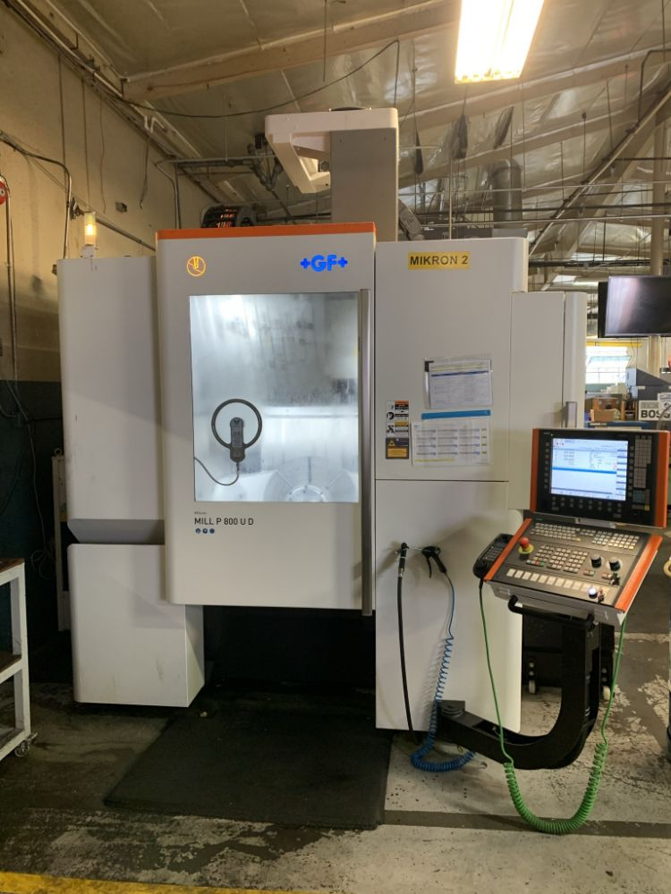 5-Axis Trunnion Machines & Multi-Axis Turning Along with Complete Plant Closure of Water-Jet Facility