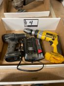 DeWalt and Craftsman Battery Powered Drills