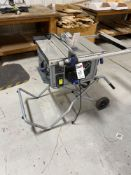 "Portable Kobalt KT1015 10"" Table Saw"