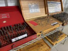 Assorted Pin Gauge Sets