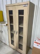 Sundusky 2 door metal cabinet