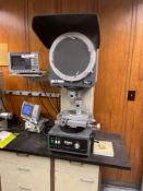 Nikon Profile Projector V-12, Quadra-Chek 200 DRO