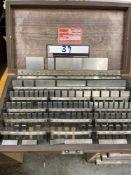 Starrett Steel Gage Block Set