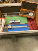 Calipers and Assorted Inspection Equipment