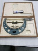 """Mitutoyo 7"""" - 8"""" Outside Micrometer"""