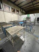 Metal Tables & Wire Racks
