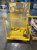 Gillis-Jarke Forklift Work Platform, M/N- FWP36, 1000lb-Max Weight Capacity, 36in x 42in Platform De