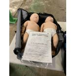 Prestan CPR Training Manikin Pack, Consisting of (1) Adult Kit, w/- 4-Heads, 4 Chest Compression Man