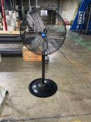 Pro Fitter 30in Pedestal Fan, M/N- SFSI-750SW, 120VAC, 60Hz, 2.4A