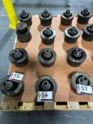 "LCO (2) 5"" Diverging Tools, (1) 3"" Diverging Tool, (1) 3 1/2i"" Diverging Shaped"