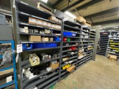 Assorted Electrical Switches & Misc. Parts on Racking