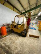 Caterpillar T120C 12000 Lbs. Cap. LPG Forklift s/n 55L00845 *Needs New Battery*