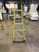 Bauer 6ft Ladder, M/N- 30806, Extra Heavy-Duty Industrial Rating, 375lb Duty Rating