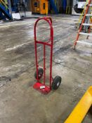 Milwaukee 800lb Capacity Red Steel Heavy Duty Hand Truck, M/N- 70019