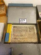 Meyers Pin Gage Set .061 - .250 Minus
