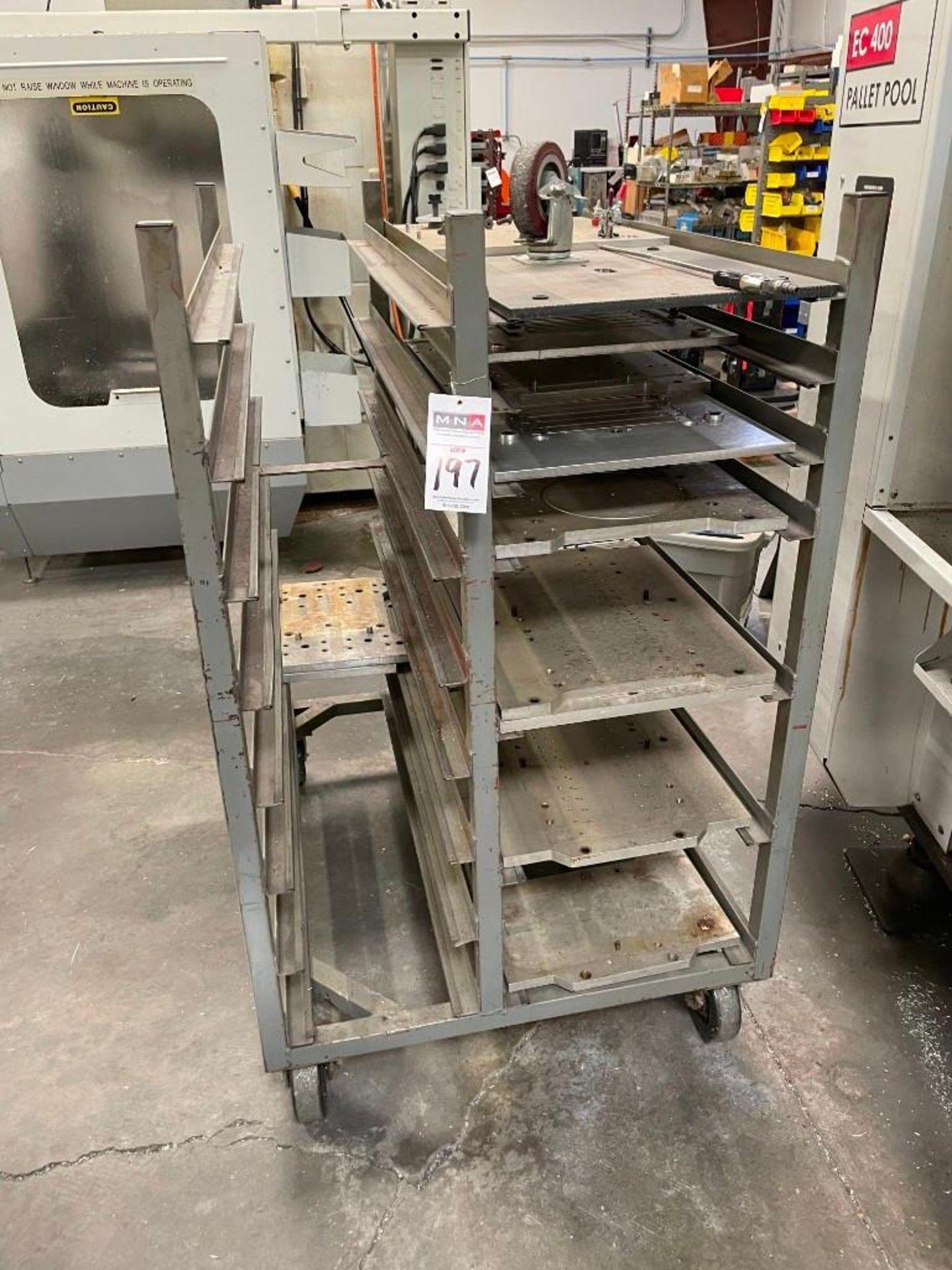 Metal Cart with Aluminum Plates
