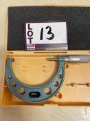 "Mitutoyo 3"" - 4"" Micrometer"