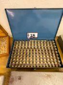 Model M-4 Pin Gage Set .626 - .750 Minus