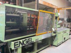 150 Ton Engel 150 Injection Molder, 10oz Shot Size, s/n 7098/150/95, New 1995