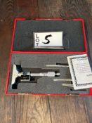 SPI Digital 0 to. 4. Depth Micrometer