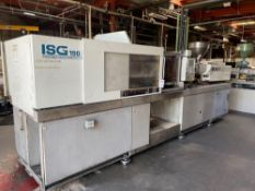 190 Ton Toshiba ISG190 Injection Molder, 19oz Shot Size, Injectvisor V10 Control, New 2000