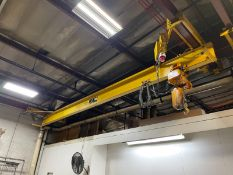Ace 2 Ton Undercarriage Crane W/ 60 Ft Run Way 16 Ft Height