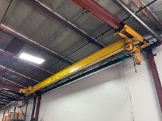 Ace 2 Ton Undercarriage Crane W/ 70 Ft Run Way 16 Ft Height