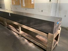W F Long Surface Plate 120'' x 24'' x 14''