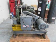 American Bristol IND Inc SKD3S50E3 20HP Multi-Stage Portable Air Compressor