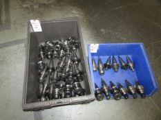 (42) Assorted CAT 40 Tool Holders