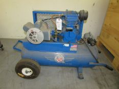 Quincy Compressor 121DC17PC3A 2HP Single Stage Portable Tank Mounted Air Compressor