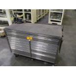 """Westward 56"""" Rolling Steel Cabinet"""