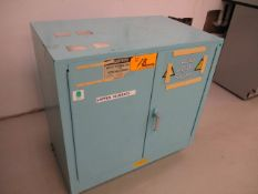 Just Rite Safety Storage Cabinet for Acids & Corrosives