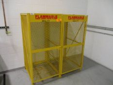 Modern Equipment Co CSC2V-KD Expanded Metal Storage Cage