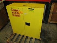 U-Line H-1563M / 873000 30 Gallon Flammable Liquid Storage Cabinet