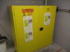 Global BV2 110 Gallon Safety Storage Cabinet