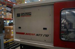 2006 Cincinnati Milacron MTG 170 170-Ton Injection Molding Machine