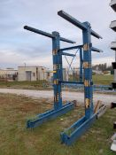 "Two-Sided Cantilever Rack; (2) 10' High Uprights x 42"" Arms, 3,000 Lb. Cap."