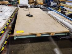 "2,000 Lb. Cap. Hydraulic Lift Table, 96"" x 42"""