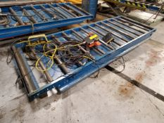 "Hydraulic Lift Table, 96"" x 48"""