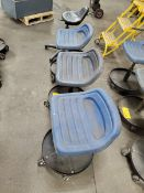 (4) Adjustable Shop Seats