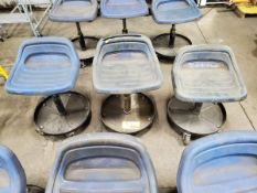 (3) Adjustable Shop Seats