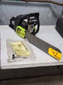 """Poulan P3314 14"""" Gas Chain Saw"""