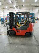 Toyota 7FHCU25 4,500 Lb. Capacity Forklift Truck