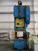 Verson 250 Ton Open Back Inclinable Press